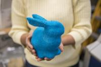 Automatically Knitted Bunny
