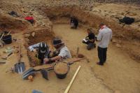 Excavation, Saffaqah, Saudi Arabia