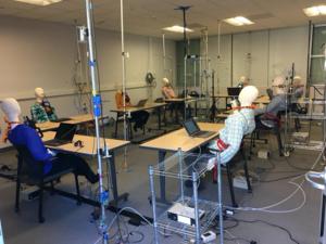 Berkeley Lab experiment on indoor contaminant exposure