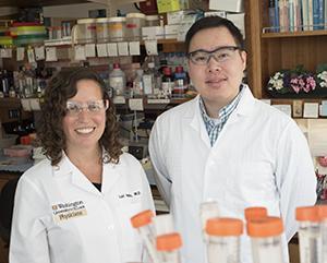 Lori Holtz, M.D. and Efrem Lim, Ph.D., Washington University School of Medicine