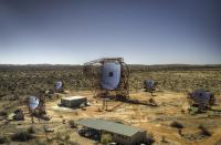 The Five Telescopes of H.E.S.S.