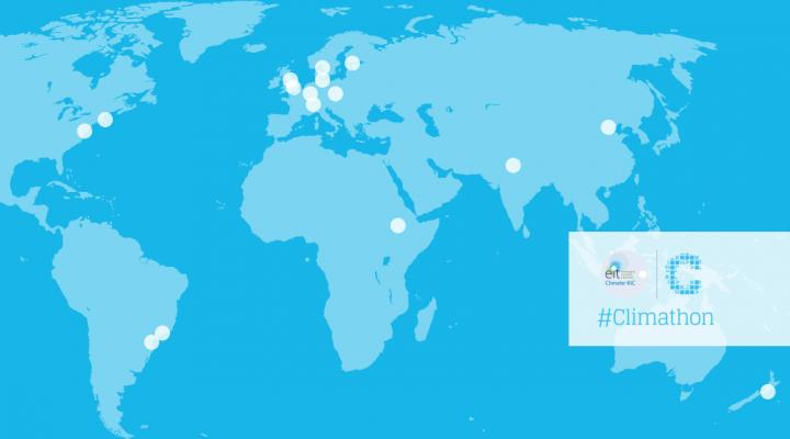 Climate-KIC Climathon Map