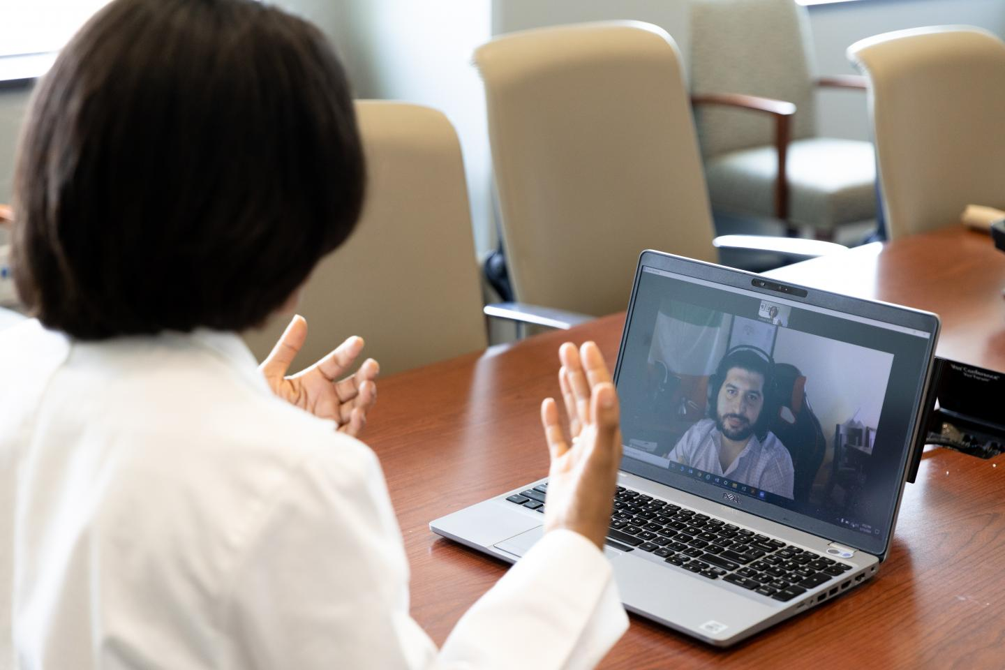 Access to peer support combined with telehealth being studied for its effectiveness to combat PTSD