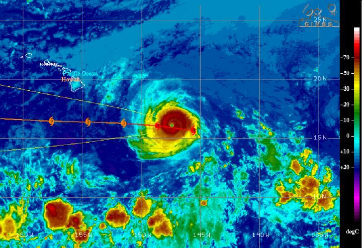 GOES-West Image of Hector