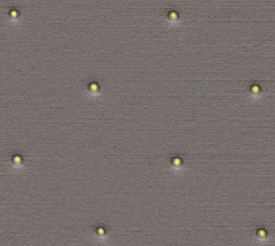 Nonstick and Laser-safe Gold Aids Laser Trapping of Biomolecules