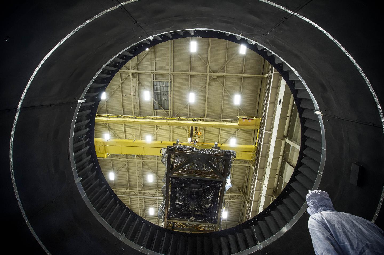 Inside NASA Goddard's Thermal Vacuum Chamber