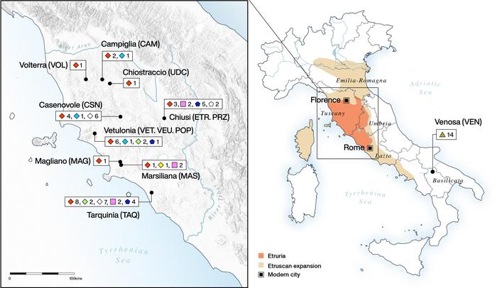 Etruscan Map