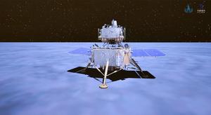 The Chang'E-5 lunar probe