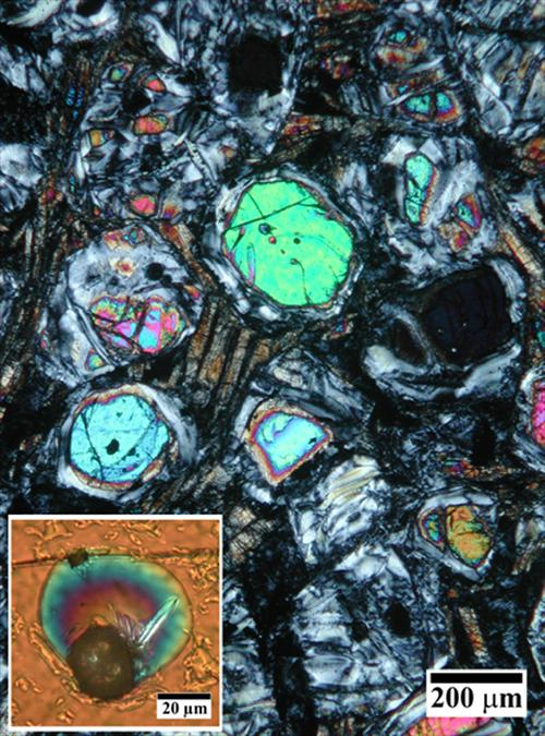 Komatiite Volcanic Rocks