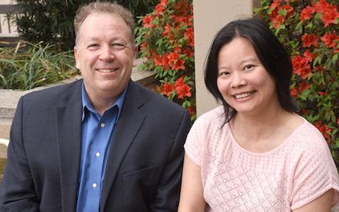 Dr. Philipp Scherer and Dr. Yingfeng Deng, UT Southwestern Medical Center