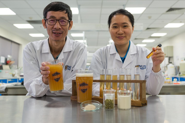 Liu Shao and Chan Mei Zhi Alcine, National University of Singapore