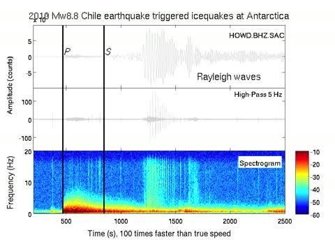 HOWD Seismic Signals