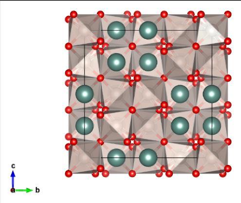 Pyrochlore unit cell