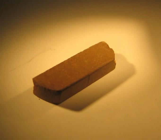 Brick Made of Compacted Martian Soil