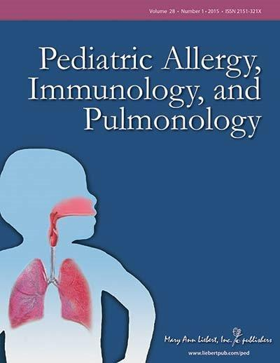 <I>Pediatric Allergy, Immunology, and Pulmonology</I>