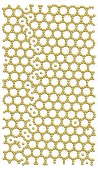 Self-assembled Truncated Hexagonal Crystal