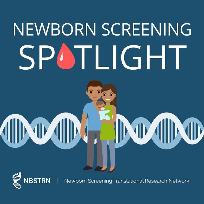 Newborn Screening SPOTlight Podcast Cover Image