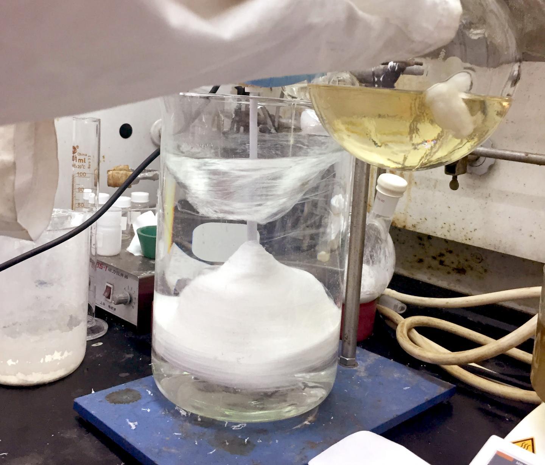 Polysulfate Bulk Synthesis