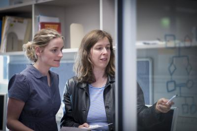 Dr. Melanie Bahlo and Katherine Smith, Walter and Eliza Hall Institute