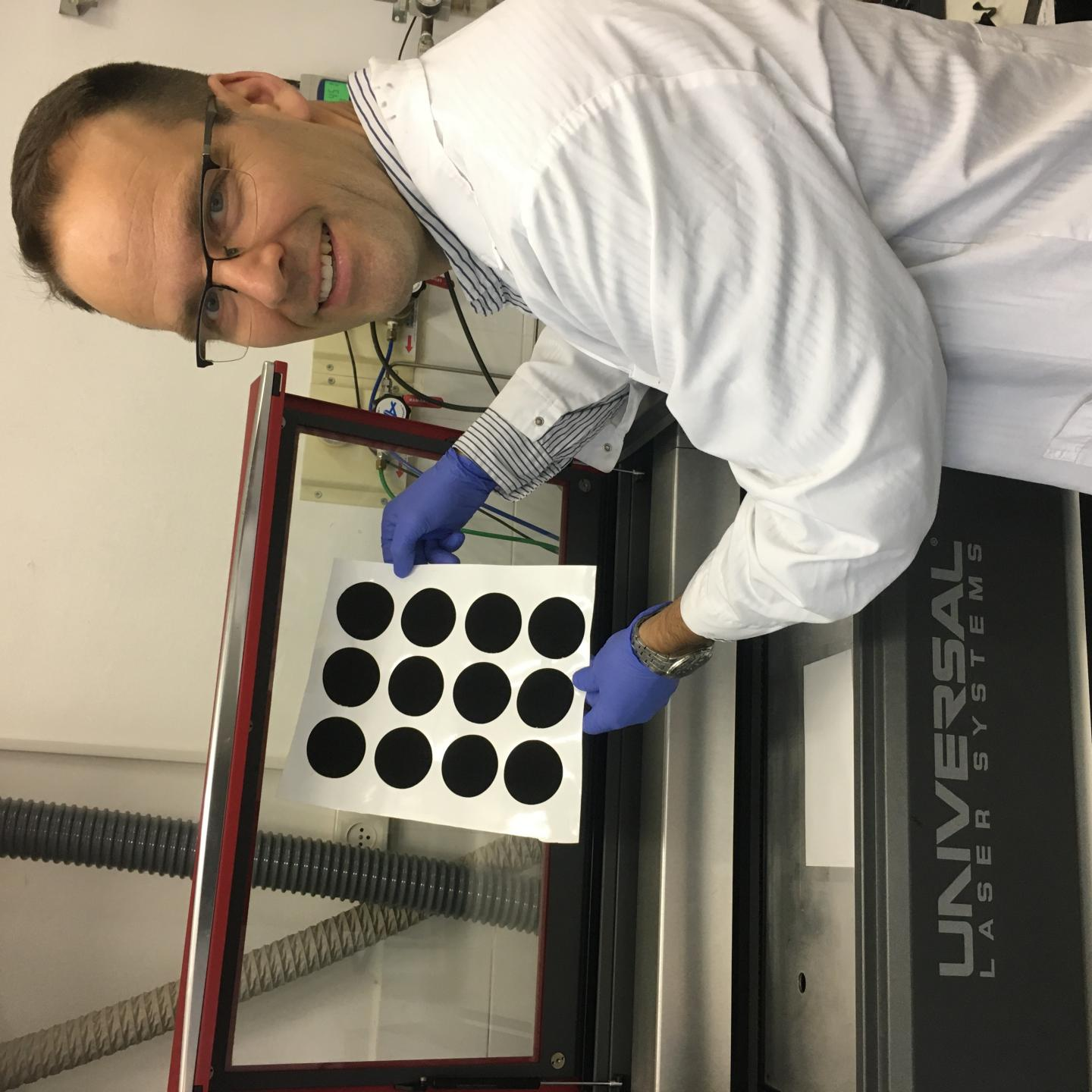 Laser Induced Graphene Yields New Self-Sterilizing Filtration Technologies Being Developed by Ben-Gurion U. Researchers