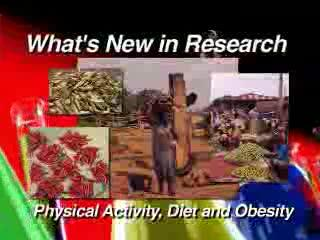 Physical Activity, Diet and Exercise