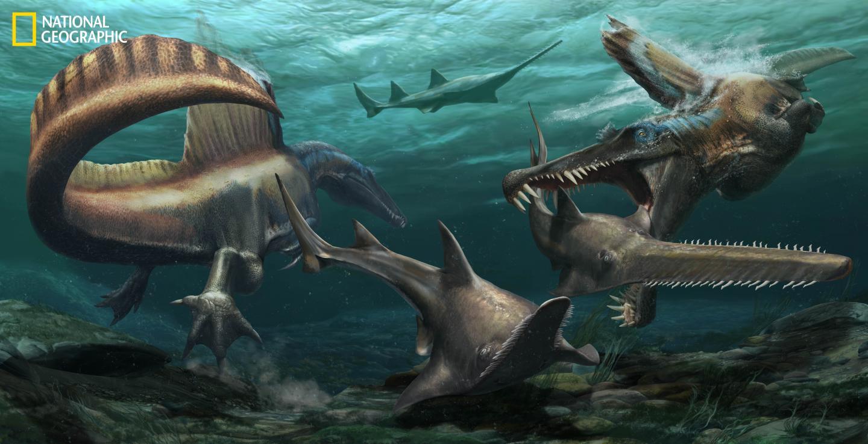 Spinosaurus Rendering