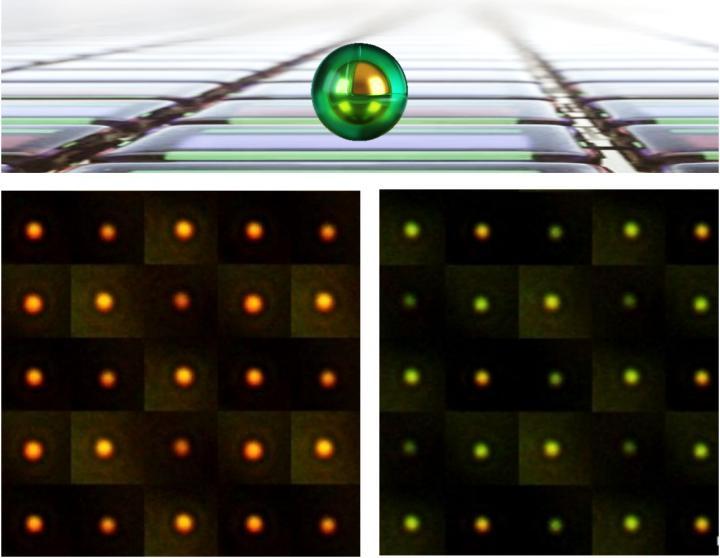 Electrochromic Nanoparticle-On-Mirror (eNPoM)