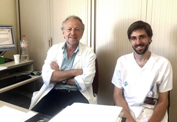 Dr. Daniel Podzamczer and Dr. Arkaitz Imaz, Dr. Daniel Podzamczer and Dr. Arkaitz Imaz