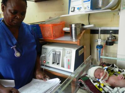 Florence Mwenifumbo, Queen Elizabeth Central Hospital