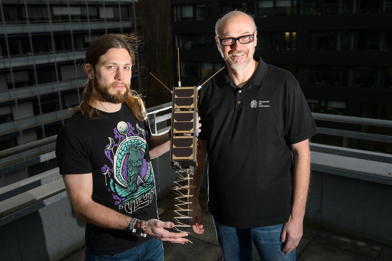 Gilles Nies and Professor Holger Hermanns,  Saarland University