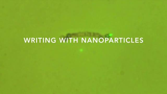 Writing With Nanoparticles
