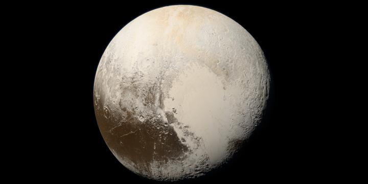 Natural Color Images of Pluto