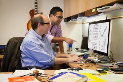 Eric Bittner, University of Houston, and Carlos Silva, Université de Montréal