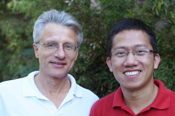Craig Montell and Zijing Chen