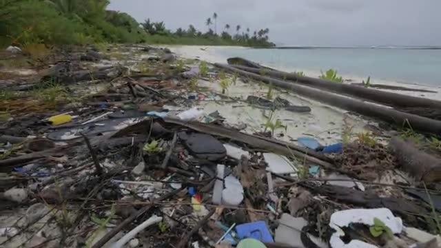 Video of Plastic Debris on Cocos (Keeling) Island