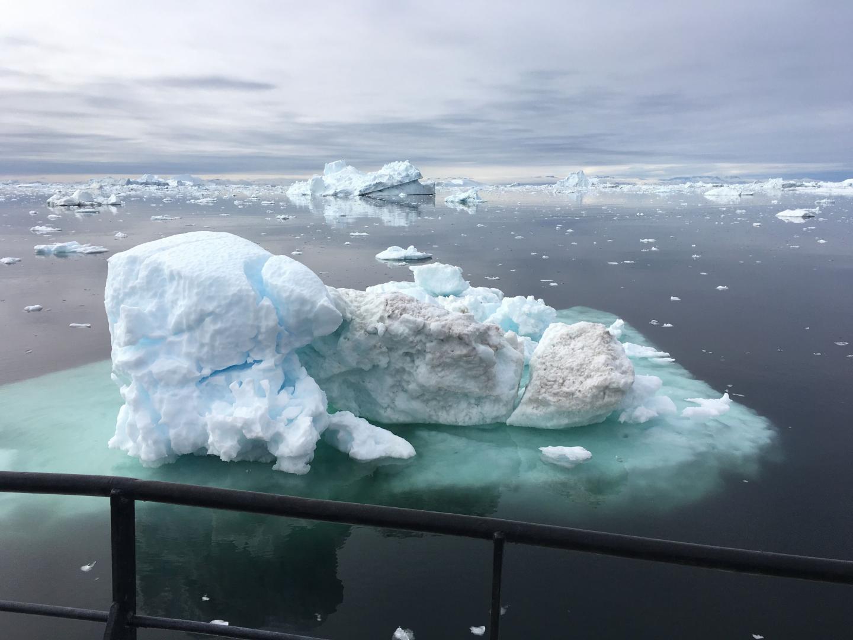 Melting Ice off Greenland (1 of 2)