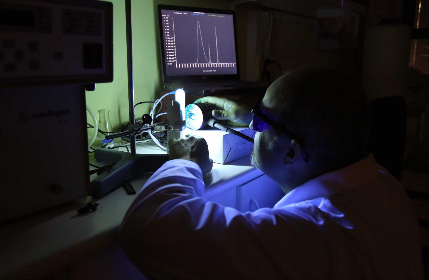 Researchers from the University of Malaga in the Laboratory of Dermatological Photobiology