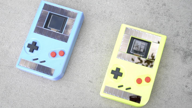 Battery-free Game Boy