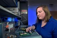 Northrop Grumman engineer Meredith Benson