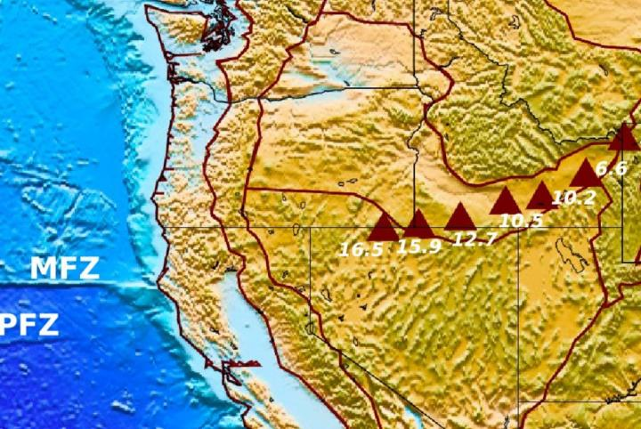 Yellowstone Hotspot Track