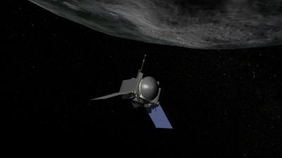 Artist's Concept of NASA's OSIRIS-REx