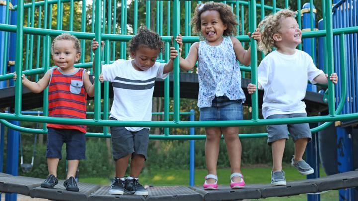 Kids of Different Races