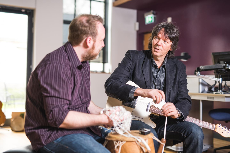 Dr. Clemens Maidhof and Professor Jorg Fachner, Anglia Ruskin University (ARU)