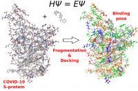 Quantum Refinement for COVID-19