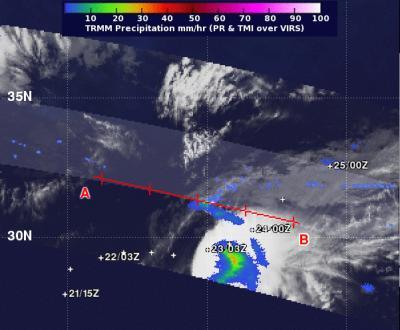 TRMM Image of Lorenzo