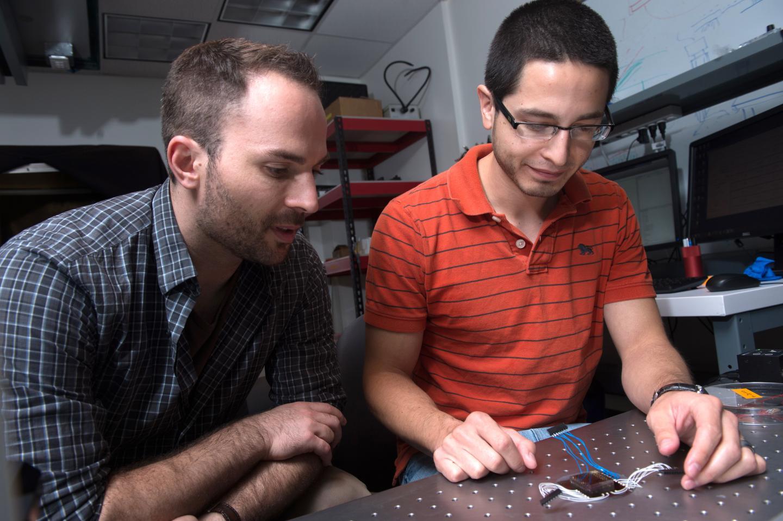 Jacob Robinson and Daniel Gonzales, Rice University