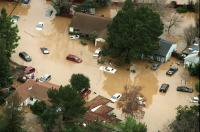 Flooding of San Francisquito Creek