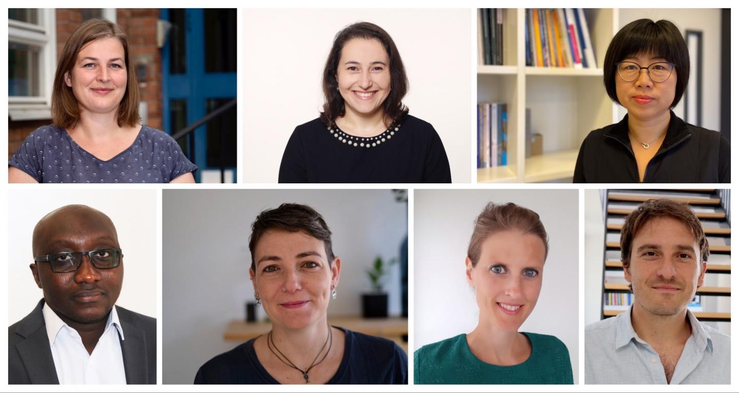 Some of the winners of 2020 ERC Starting Grants