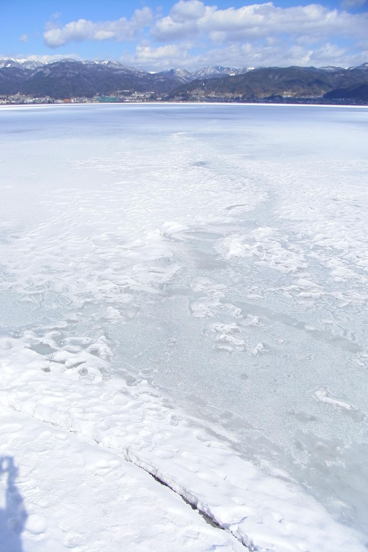 Present-Day Lake Suwa