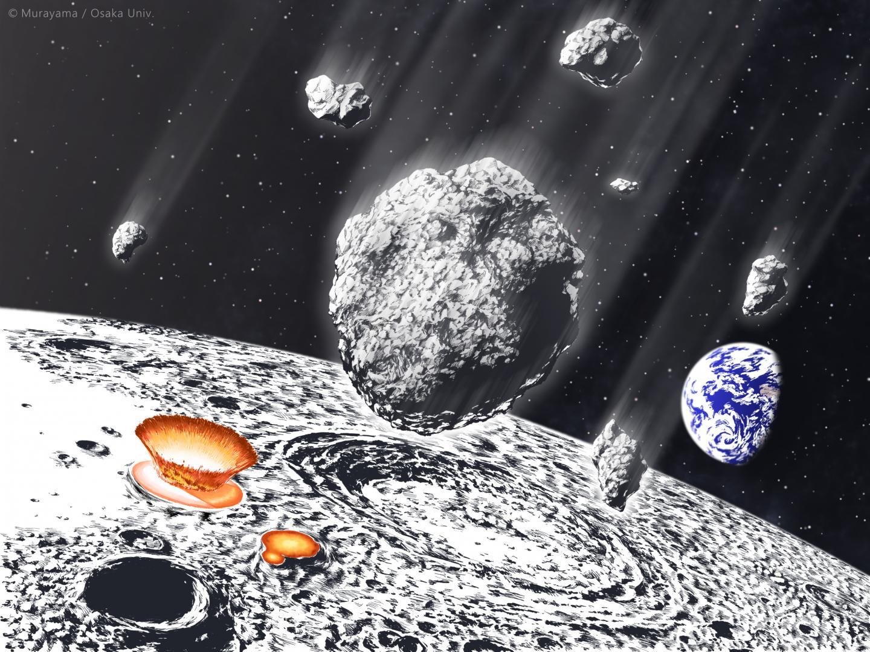 Asteroid Shower